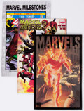 Modern Age (1980-Present):Miscellaneous, Marvel Modern Age Long Box Group (Marvel, 2000s) Condition: Average VF....