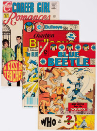 Charlton Silver to Bronze Age Long Boxes Group (Charlton, 1960s-70s) Condition: Average GD/VG.... (Total: 2 Box Lots)