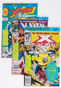 X-Cutioner's Song Crossover Long Box Group (Marvel, 1992-93) Condition: Average VF/NM