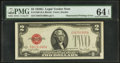Error Notes:Obstruction Errors, Fr. 1508 $2 1928G Legal Tender Note. PMG Choice Uncirculated 64EPQ.. ...