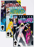Modern Age (1980-Present):Superhero, The New Mutants Box Lot (Marvel, 1986-88) Condition: AverageVF/NM....