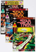 Modern Age (1980-Present):Science Fiction, Star Trek #2-14 and 17 Box Lot (Marvel, 1980-81) Condition: AverageVF/NM....