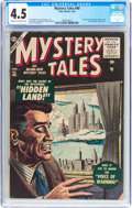 Silver Age (1956-1969):Horror, Mystery Tales #40 (Atlas, 1956) CGC VG+ 4.5 Cream to off-whitepages....