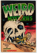 Golden Age (1938-1955):Horror, Weird Mysteries #4 (Gillmor, 1953) Condition: GD-....