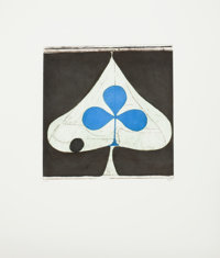 Richard Diebenkorn (1922-1993) Blue Club, 1981 Etching and aquatint in colors on wove paper 18-7/