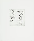 Prints:Contemporary, Brice Marden (b. 1938). Etchings to Rexroth, 1, 1986.Etching and sugarlift aquatint on wove paper. 7-7/8 x 6-7/8inches...