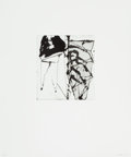 Prints:Contemporary, Brice Marden (b. 1938). Etchings to Rexroth, 15, 1986.Etching and sugarlift aquatint on wove paper. 7-7/8 x 6-7/8inche...