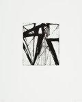 Prints:Contemporary, Brice Marden (b. 1938). Etchings to Rexroth, 21, 1986.Etching and sugarlift aquatint on wove paper. 7-7/8 x 6-7/8inche...