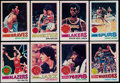 Basketball Cards:Sets, 1977-78 Topps Basketball Complete Set (132). ...