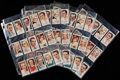 """Non-Sport Cards:Singles (Pre-1950), 1938 John Player & Sons """"Film Stars"""" Third Series Complete SetCollection (4)...."""