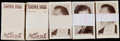 "Non-Sport Cards:Sets, 1936 Facchino's ""Cinema Stars"" Complete Set Collection (5)...."