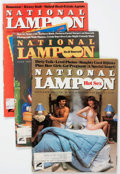 Magazines:Humor, National Lampoon Short Box Group (NL Communications, 1973-84)Condition: Average VG....