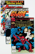 Modern Age (1980-Present):Miscellaneous, Marvel Modern Age Comics Box Lot of 83 (Marvel, 1980s) Condition: Average NM-....