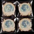 Non-Sport Cards:Sets, 1952 Dixie Cup Nelson's Ice Cream Complete Set Collection (4)....