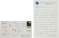 Miscellaneous Collectibles:General, 1969 Neil Armstrong Signed Apollo 11 First Day Cover & Response Letter. ...