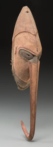 Tribal Art, KWOMO, Sepik River, Papua, New Guinea, Melanesia. Male Mask...
