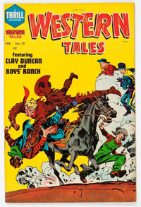 Witches' Western Tales #29 (Harvey, 1955) Condition: VF