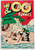 Golden Age (1938-1955):Funny Animal, Zoo Funnies #2 (Charlton, 1945) Condition: VF....