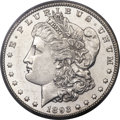 Morgan Dollars, 1893-CC $1 AU58 PCGS....