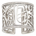 Estate Jewelry:Rings, Diamond, White Gold Ring, Poiray, French. ...
