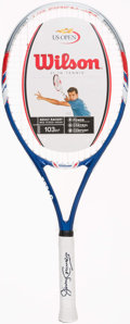 Miscellaneous Collectibles:General, Jimmy Connors Signed Tennis Racket....