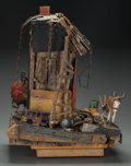 Fine Art - Sculpture, American:Contemporary (1950 to present), Beverly Buchanan (American, b. 1940). Miss Hester's Place.Mixed media. 23 x 20 x 18 inches (58.4 x 50.8 x 45.7 cm). ...