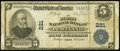 National Bank Notes:Maine, Portland, ME - $5 1902 Plain Back Fr. 598 The First NB Ch. # 221. ...