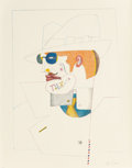 Fine Art - Work on Paper:Print, Richard Lindner (American, 1901-1978). Talk to Me, 1970. Lithograph in colors. 33-1/2 x 26-1/4 inches (85.1 x 66.7 cm) (...