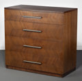 Furniture , Gilbert Rohde (American, 1894-1944). A Four-Drawer Chest, 1933, Design for Living by Herman Miller Furniture Company, Ze...