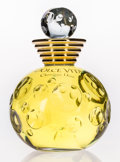 Art Glass:Other , A Christian Dior Glass Factice Bottle: Dolce Vita, circa1994. 10 inches high (25.4 cm). A PERFUME BOTTLE ...