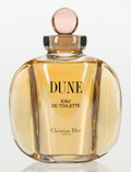 Art Glass:Other , A Clear and Pink Glass Christian Dior Factice Bottle: Dune,circa 1991. 10-3/8 inches high (26.4 cm). A PERFUME BO...