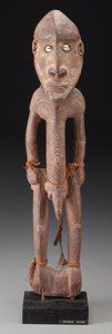 Tribal Art, UNKNOWN ETHNIC GROUP, Papua, New Guinea . Standing Male Figure...