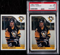 Hockey Cards:Lots, 1985 Topps Mario Lemieux Rookie Pair (2)....