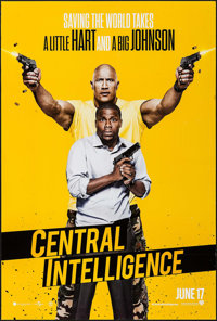 """Central Intelligence & Others Lot (Warner Brothers, 2016). One Sheets (4) (27"""" X 40"""") DS Advance. Come..."""