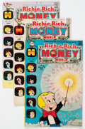 Bronze Age (1970-1979):Cartoon Character, Richie Rich Money World File Copy Short Box Group (Harvey, 1972-82)Condition: Average NM-....