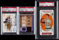 Basketball Cards:Lots, 1969 Topps Havlicek Rookie Card, 2003 Garnett Autograph Card &2006 Walter Payton Jersey Card. ...