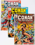Bronze Age (1970-1979):Adventure, Conan the Barbarian Group of 6 (Marvel, 1970-71) Condition: Average VG-.... (Total: 6 Comic Books)