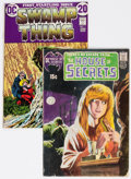 Silver Age (1956-1969):Horror, House of Secrets #92/Swamp Thing #1 Group (DC, 1971-72).... (Total:2 Comic Books)