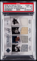 Baseball Cards:Singles (1970-Now), 2009 Ultimate Collection Legendary Eight Memorabilia Jersey CardPSA VG-EX 4....