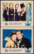 "Movie Posters:Comedy, By Candlelight (Universal, 1933). Lobby Cards (2) (11"" X 14""). Comedy.. ... (Total: 2 Items)"