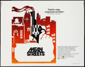 "Movie Posters:Crime, Mean Streets (Warner Brothers, 1973). Half Sheet (22"" X 28""). Crime.. ..."