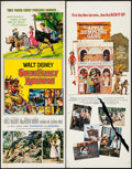 "Movie Posters:Adventure, Swiss Family Robinson & Others Lot (Buena Vista, R-1975).Inserts (4) (14"" X 36""). Adventure.. ... (Total: 4 Items)"