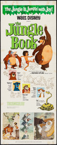 """Movie Posters:Animation, The Jungle Book (Buena Vista, 1967). Insert (14"""" X 36""""). Animation.. ..."""