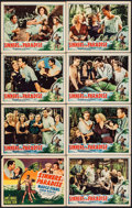"Movie Posters:Drama, Sinners in Paradise (Universal, 1938). Lobby Card Set of 8 (11"" X14""). Drama.. ... (Total: 8 Items)"
