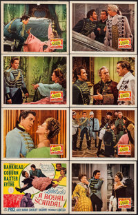 """A Royal Scandal (20th Century Fox, 1945). Lobby Card Set of 8 (11"""" X 14""""). Comedy. ... (Total: 8 Items)"""