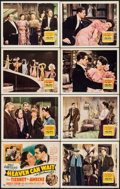 """Movie Posters:Comedy, Heaven Can Wait (20th Century Fox, 1943). Lobby Card Set of 8 (11""""X 14""""). Comedy.. ... (Total: 8 Items)"""