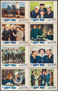 "Movie Posters:War, The Navy Way (Paramount, 1944). Lobby Card Set of 8 (11"" X 14"").War.. ... (Total: 8 Items)"
