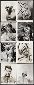 "Movie Posters:Action, Gunga Din (RKO, 1939). Photos (21) (8"" X 10""). Action.. ... (Total:21 Items)"