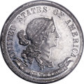 Patterns, 1869 25C Standard Silver Quarter Dollar, Judd-732, Pollock-813, Low R.7, PR63 PCGS....