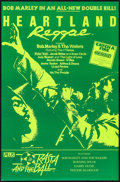 "Movie Posters:Documentary, Heartland Reggae/Rasta and the Ball Combo (Blue Dolphin, 1983). British Double Crown (19.25"" X 29.25""). Documentary.. ..."